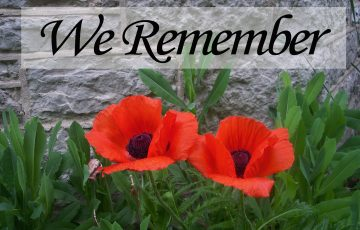 3 Ways to Honour this Remembrance Day