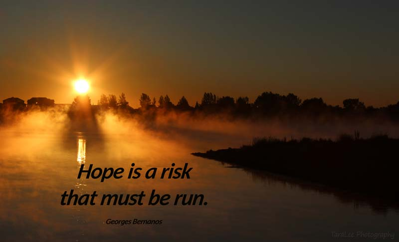 Hope is a Risk